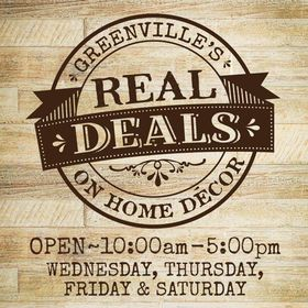 Real Deals Home Decor Greenville,SC