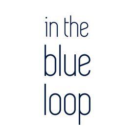 In the blue loop