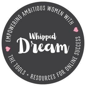 Whipped Dream | Feminine Branding + Website Design