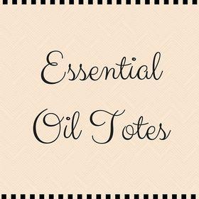 Essential Oil Totes