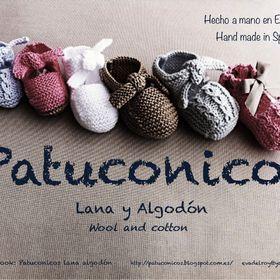 Patuconicos lana y algodón