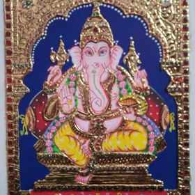 Image by Shutterstock Watercolor Hindu Lakshmi Lotus Women/'s Tee