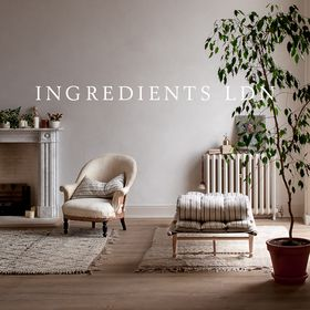 INGREDIENTS LDN | Homewares boutique for slow living