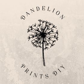 Dandelion Prints DIY | Wedding and Event Templates and Stationery