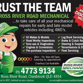 Townsville Mechanic - Ross River Road Mechanical
