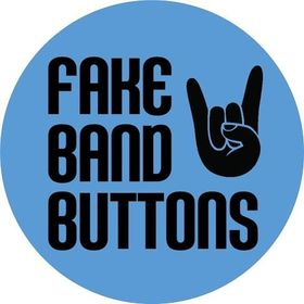 Fake Band Buttons