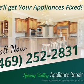 Spring Valley Appliance Repair Pros