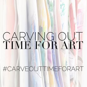 Carve Out Time for Art