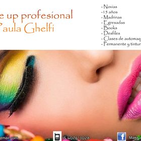 Make up profesional Paula Ghelfi