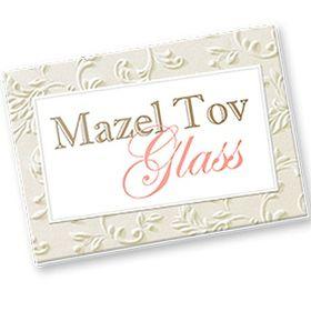Mazel Tov Glass
