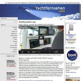 Yacht-TV Yachtfernsehen
