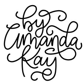 By Amanda Kay | Hand Lettering + iPad lettering + Brush Lettering