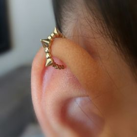 Magic Hammer | Handmade Piercing Jewelry in Solid Gold