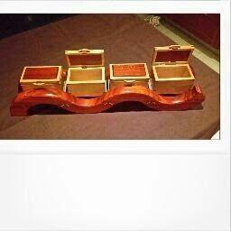 CarvedandCut Unique Wooden Boxes