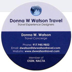 Donna W Watson Travel