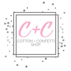 Cotton + Confetti Shop | Personalized Gifts