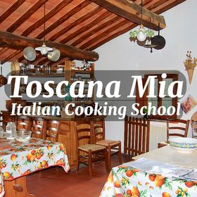 Toscana Mia Italian Cooking School  in Tuscany and Online