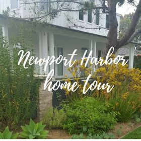 Newport Harbor Home Tour