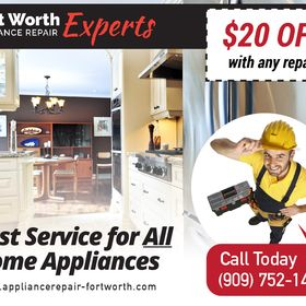 Fort Worth Appliance Repair Experts