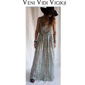 Veni Vidi Vicki - Chic Classic Vintage Trendy Bohemian Style Handmade In Greece