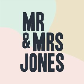 Mr and Mrs Jones