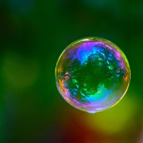 Laeti dans sa bulle