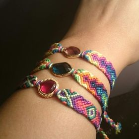 Friendship bracelets by Simply Maram !