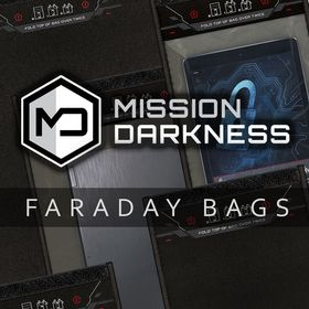 Mission Darkness Faraday Bags
