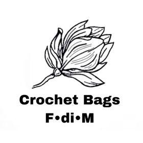 Crochet bag & home decor F•di•M