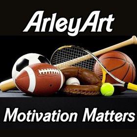 ArleyArt | Sports Motivation & Home Decor Wall Art & Posters