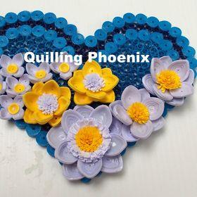 Quilling Phoenix