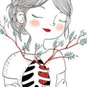 girl saiko flower