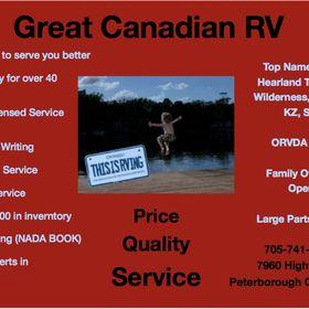Great Canadian Rv >> Great Canadian Rv Greatcanadianrv On Pinterest