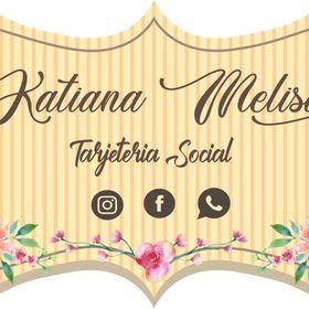 Tarjeteria social katiana Melisa Márquez