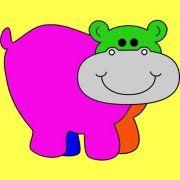 Happy Hippo Billy