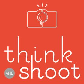 Think and Shoot T-shirt for photo lovers