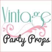 Vintage Party Props