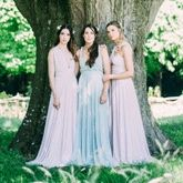Willow & Pearl ~ Bridesmaids and Flower Girl Dresses