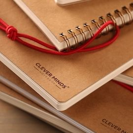 CLEVER MINDS Notebook