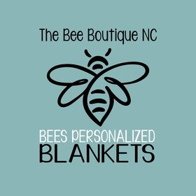 Personalized Blankets by The Bee Boutique NC