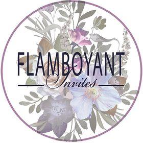 Flamboyant Invites