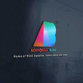 Adimorah Blog