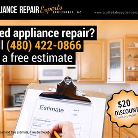 Scottsdale Appliance Repair Experts