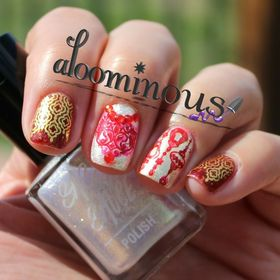 Aloominous Nails