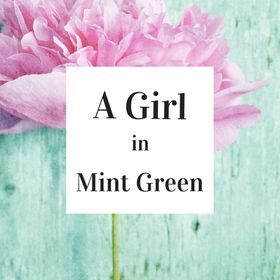A Girl in Mint Green
