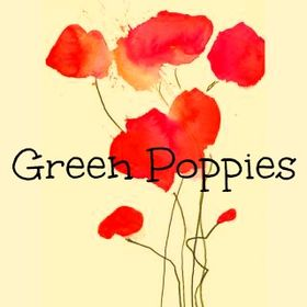 Green Poppies .
