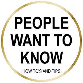 PeopleWant ToKnow