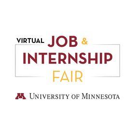 University Of Minnesota Job Internship Fair Umnjobfair Profile Pinterest