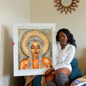 Destiney Powell Poetically Illustrated Inc. Colorful Paintings