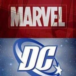 Marvel Vs Dc Comic Art